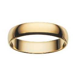 Gold Wedding Band Ring by Cherish Always in Poltergeist