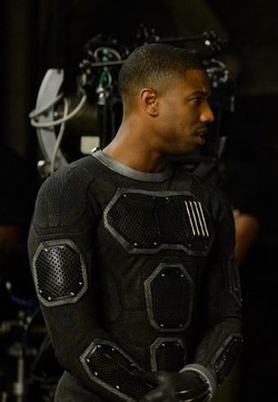 Custom Made The Human Torch Costume (Johnny Storm) by George L. Little (Costume Designer) in Fantastic Four