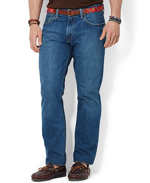 Stanton Straight-Fit Jeans by Ralph Lauren in Boyhood