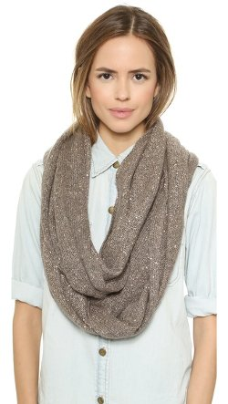 Sequin Infinity Scarf by Alice + Olivia in New Year's Eve