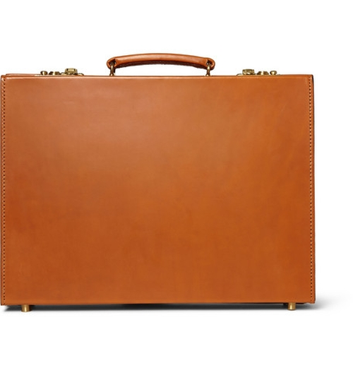 Leather Briefcase by Swaine Adeney Brigg in Kingsman: The Secret Service