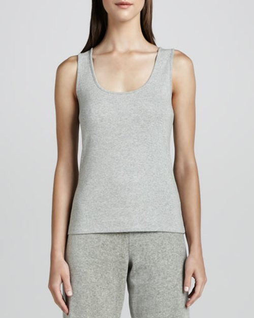 Sleeveless Cotton Tank by Joan Vass in The Boy Next Door