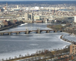Boston, Massachusetts by Charles River in Ted 2