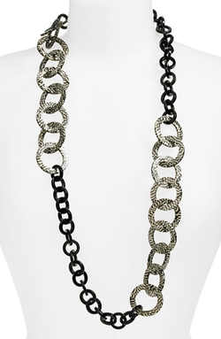 'Madison' Link Station Necklace by L. Erickson in The Good Wife