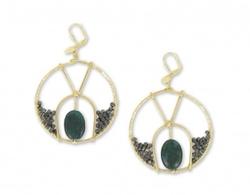 Freida Earrings by Double Happiness in Gossip Girl