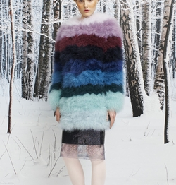 Fall/Winter 16/17 Fur Jacket by Daizy Shely in Scream Queens