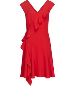 Asymmetric Ruffle-Detail Dress by Odessa in Confessions of a Shopaholic
