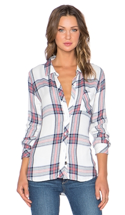 Hunter Button Down by Rails in The Big Bang Theory
