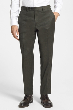 Flat Front Wool Trousers by Duckie Brown Gentlemen in Daddy's Home