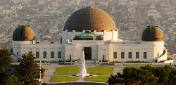 Los Angeles, California by Griffith Observatory in San Andreas