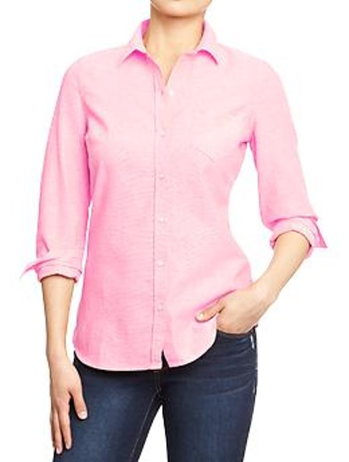 Chest Patch Pocket Oxford Shirts by Old Navy in Silver Linings Playbook