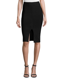 Matte Ponte Pencil Skirt by T by Alexander Wang in House of Cards