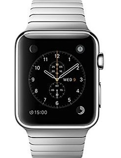 Stainless Steel Apple Watch by Apple in Modern Family