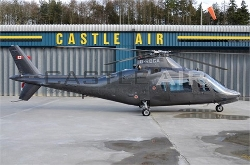 A109A II Turbine Helicopter by Agusta in Jurassic World