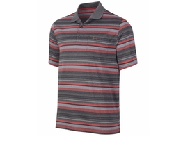 Men's Performance Striped Polo Shirt by Greg Norman for Tasso Elba  in Deepwater Horizon