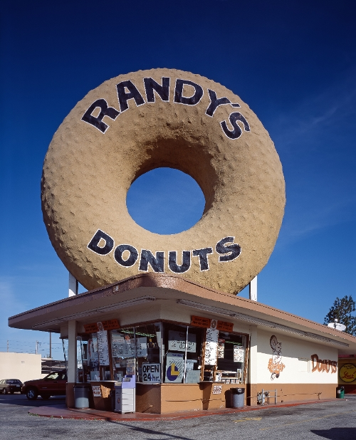 Randy's Donuts Inglewood, California in Dope