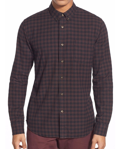 Lucas Check Sport Shirt by Slate & Stone in Teen Wolf