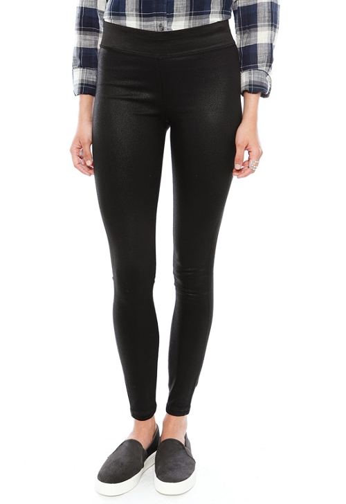 Natalie Coated Leggings by A Gold E in Barely Lethal