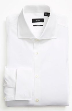 Slim Fit Dress Shirt by Boss Hugo Boss in The Devil Wears Prada