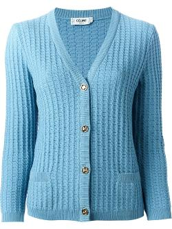 Cable Knit Cardigan by Céline Vintage in Little Fockers