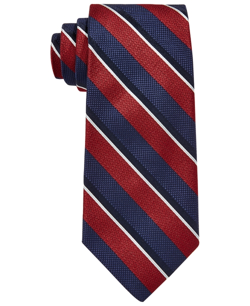 Mixed Woven Tie by Brooks Brothers in The Departed