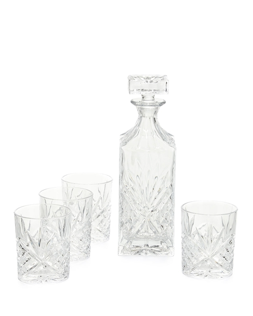 Dublin 5-Piece Crystal Whiskey Set by Godinger in The Best of Me