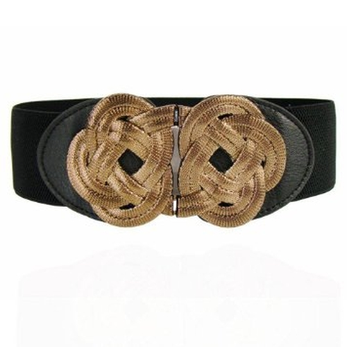 Leather Dress Strap Waist Belt by Sognimiei in Pretty Little Liars - Season 6 Episode 4