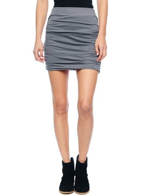 Ruched Mini Skirt by Splendid in Trainwreck