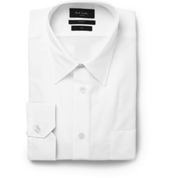 White Cotton Shirt by Paul Smith London in Survivor