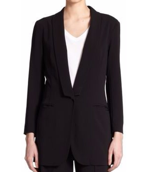 Shawl Collar Blazer by ATM Anthony Thomas Melillo in Keeping Up With The Kardashians