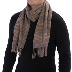 Lamora Check Scarf by Johnstons of Elgin in Rock The Kasbah