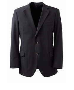 Dress Code Washable Wool Blend Coat by Lands' End in Special Correspondents