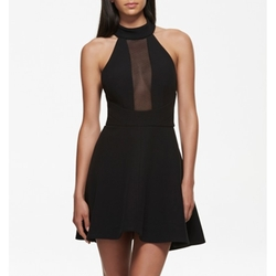 Kendall Mesh Insert Skater Dress by Forever New in Keeping Up With The Kardashians