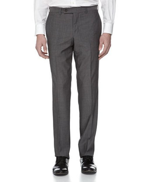 Wool Suiting Dress Pants by Ted Baker in Black or White