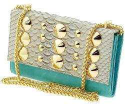 Mini Bag - Parker Snake and Stud by Be & D in The Other Woman