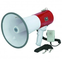 50 Watt Megaphone by Western Safety in Black Mass