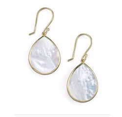 Small Teardrop Earrings by Ippolita in Rosewood