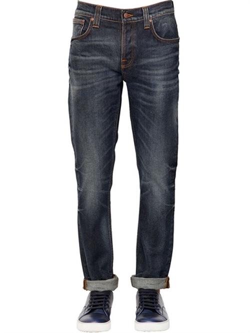 Skinny Grim Tim Denim Jeans by Nudie Jeans Co in Nashville - Season 4 Episode 9