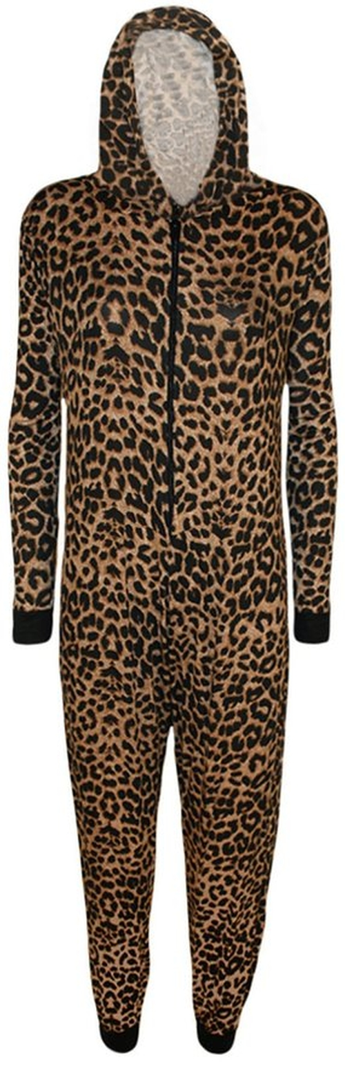 Animal Print Onesie by Miss Trendy in Keeping Up With The Kardashians - Season 11 Episode 13