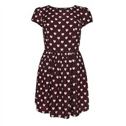Heart Print Dress by Primark in Me Before You