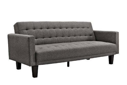 Sienna Futon Linen Sofa by DHP in Ted