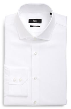 'Gordon' WW Regular Fit Check Dress Shirt by Boss in Scandal