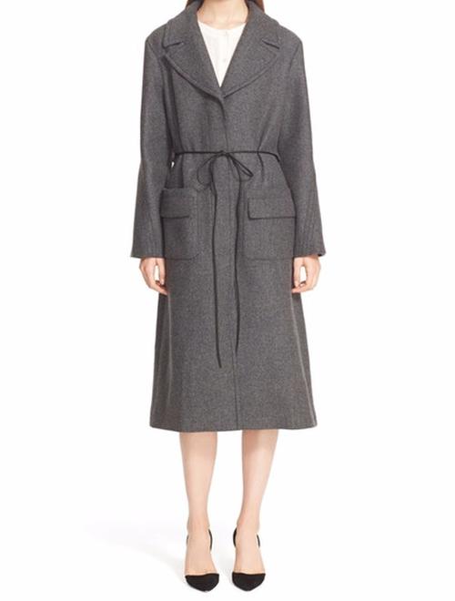 Wool Blend Coat by Nina Ricci in Scandal - Season 5 Episode 16