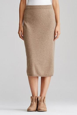 Midi Cashmere Skirt by Eileen Fisher in Keeping Up With The Kardashians