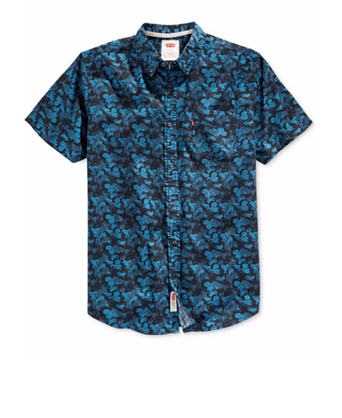 Prose Floral Print Shirt by Levi's in Dope