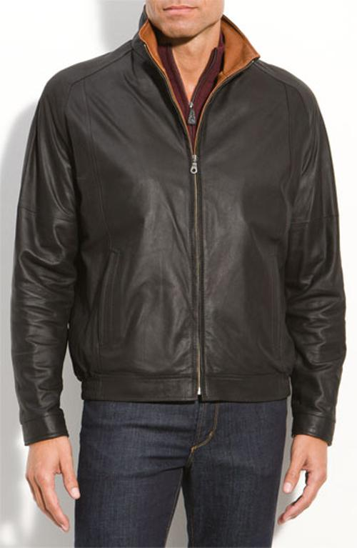 'Lite' Lambskin Leather Jacket by Remy Leather in About Last Night