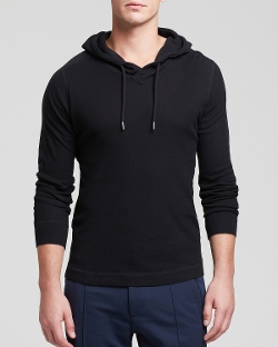 Hooded Waffle Sweater by Diesel in The Visit