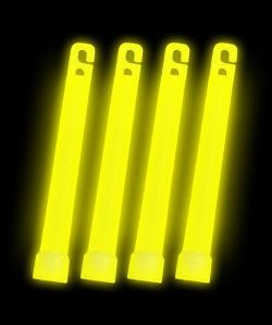 Yellow Glow Sticks Bulk Wholesale Pack by Glow in Couple's Retreat