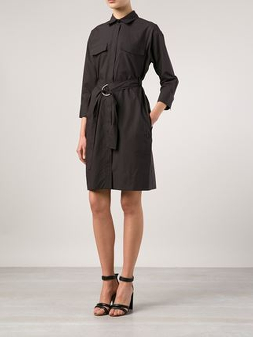 Belted Shirt Dress by Lareida in Unfinished Business