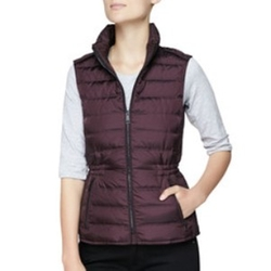 Twin Needle Quilted Zip-Front Gilet by Burberry Brit in How To Get Away With Murder